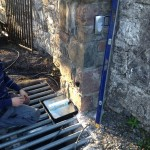 Installing Electric Gates at Newport Co Mayo