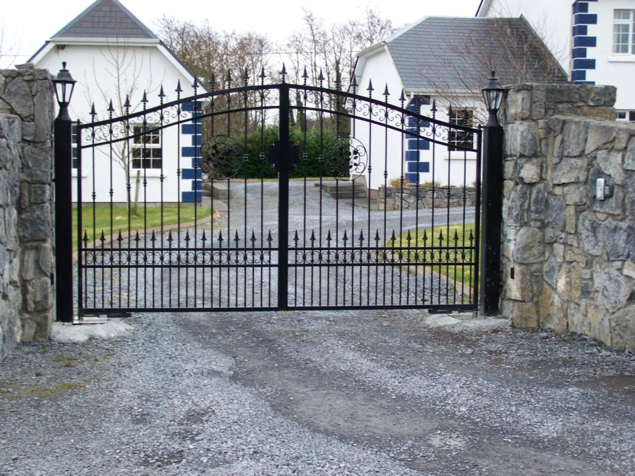 Highly Decoative Gates Galway Gates Galway Electric