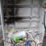 Short Circuited Not Sealed Panel