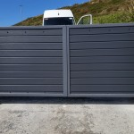 Fitted Driveway Gates made from composite plc