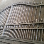 New set of iron gates